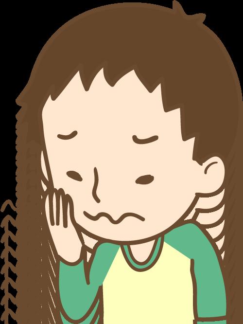 男の子 歯の痛み イラスト
