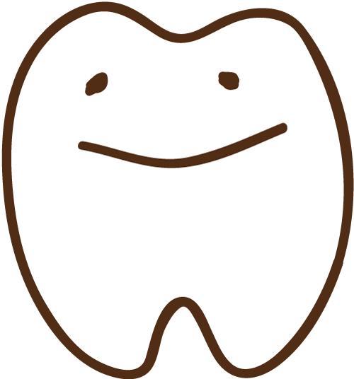 ほんわり歯 イラスト