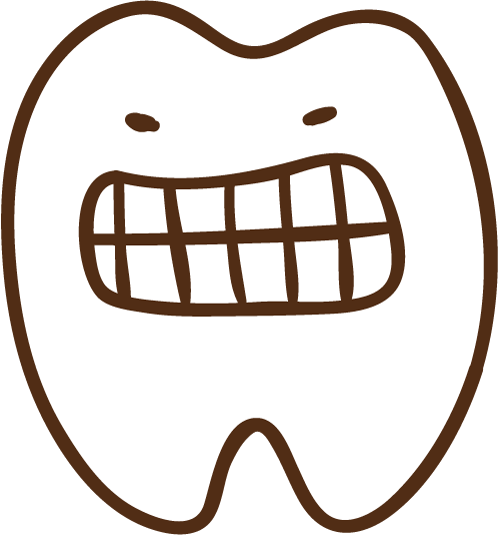 いっ!歯 イラスト
